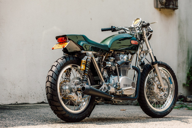 Blank Check: Bill Becker builds the ultimate custom Yamaha XS 650.