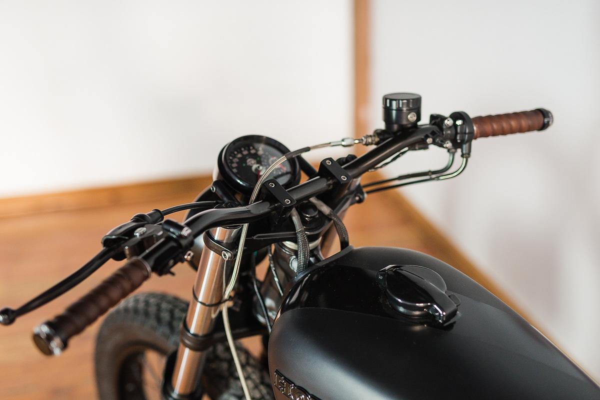 The Dark Art of Building a CB Cafe Racer | Bike EXIF