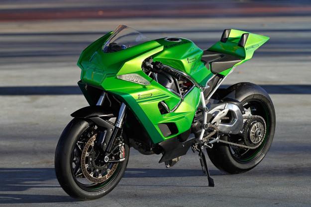 Kawasaki H2 by Lussiana Disegno