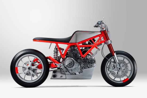 Custom Rumble Ducati Scrambler by Untitled Motorcycles and Marin Speed Shop