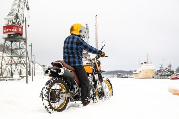 Honda NX650 by Janne Hietakangas