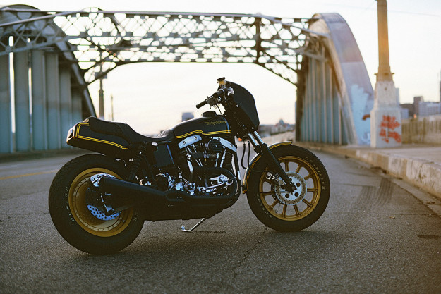 This Harley Shovelhead by Noise Cycles Drips With 70s Style