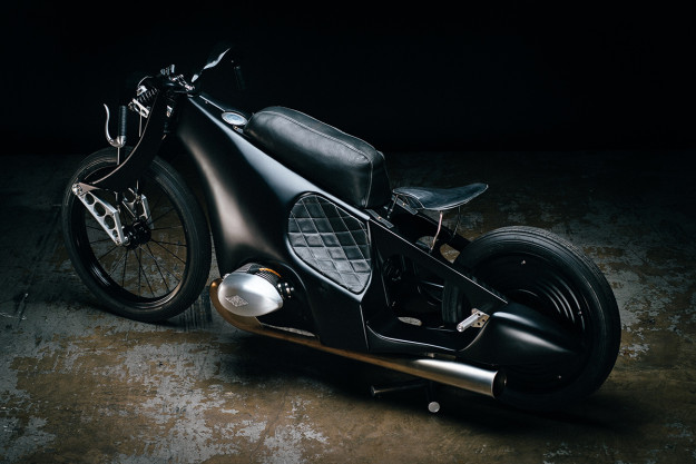 Artistry in metal: The BMW Landspeeder by Revival Cycles