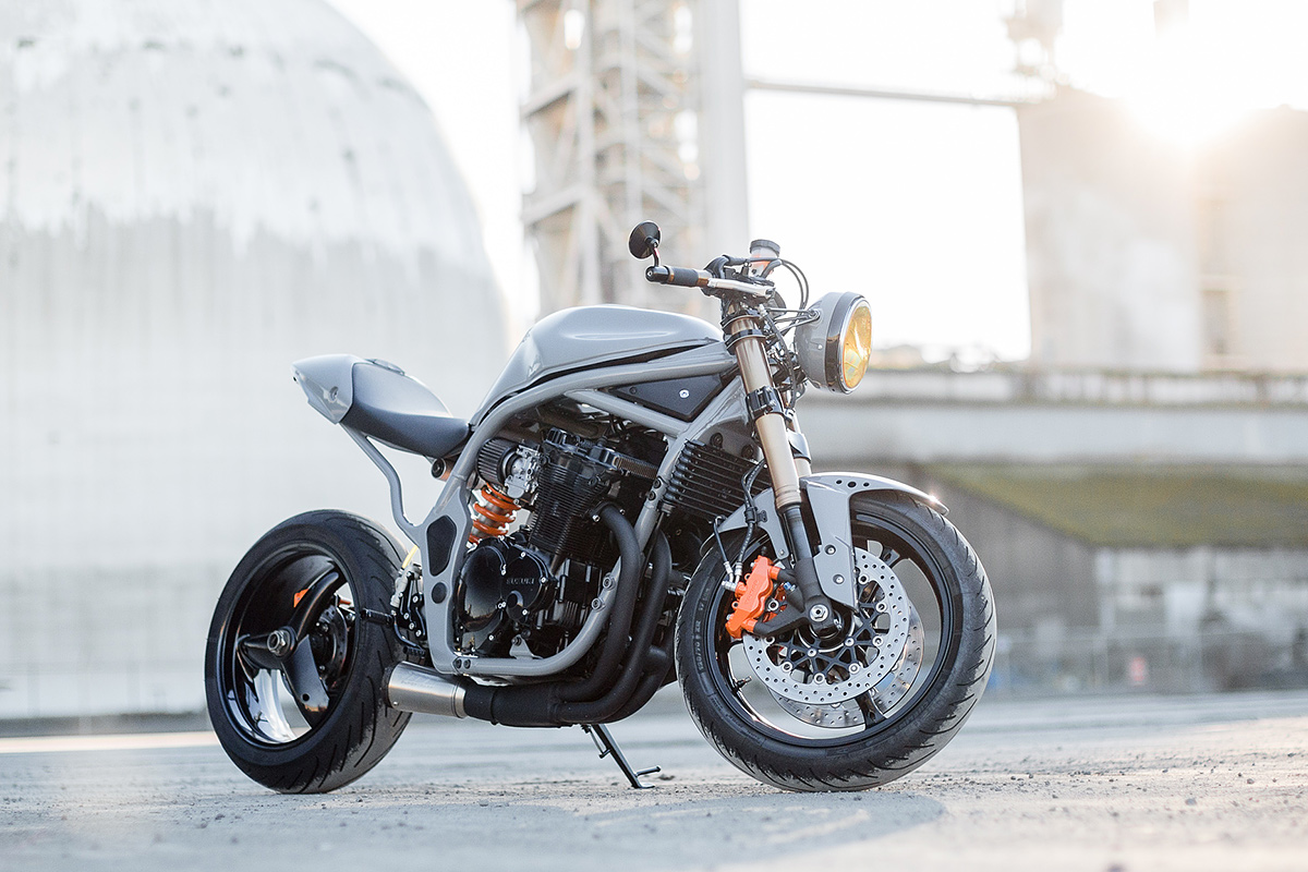 The Outlaw: turning the Suzuki Bandit 600 into a modern-day cafe racer.