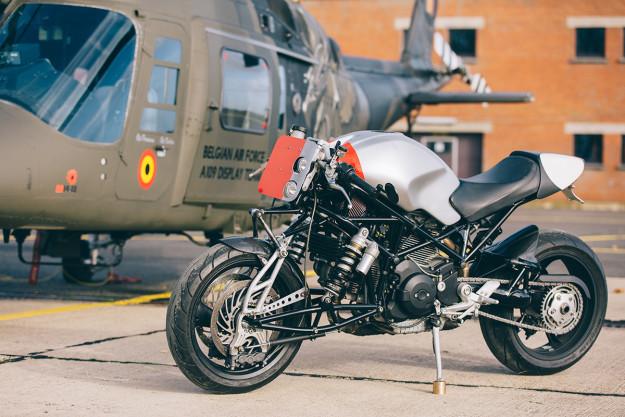 Ducati Monster S2R by Bernard Mont