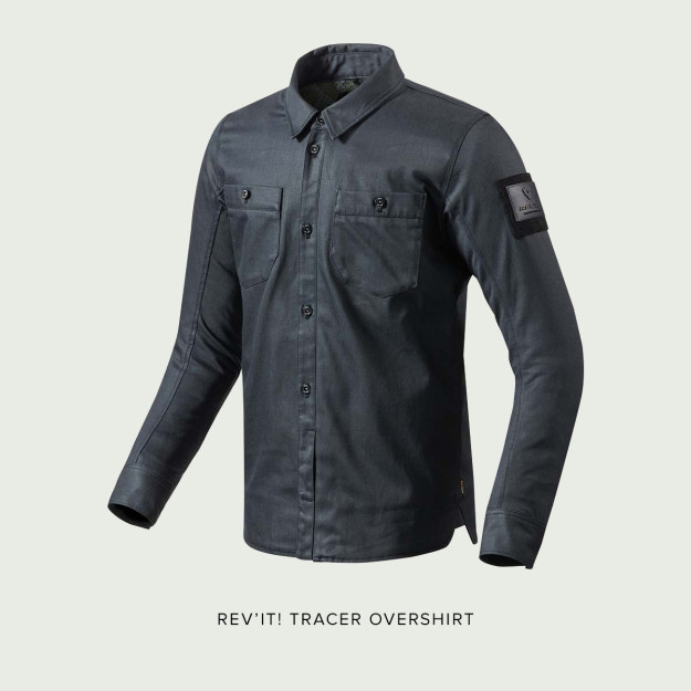 The REV'IT! Tracer Overshirt.