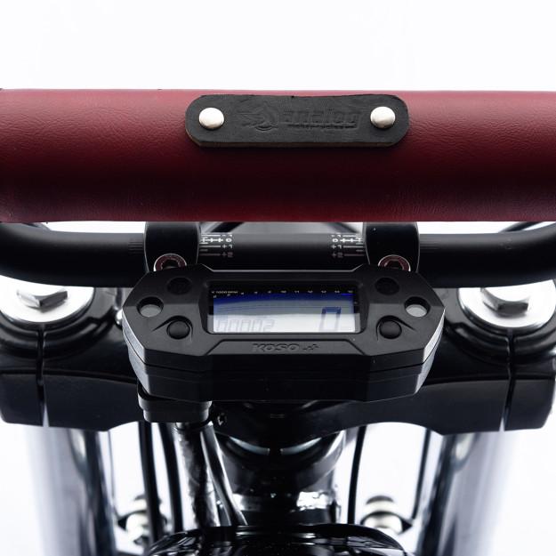 A custom Royal Enfield scrambler by Analog Motorcycles