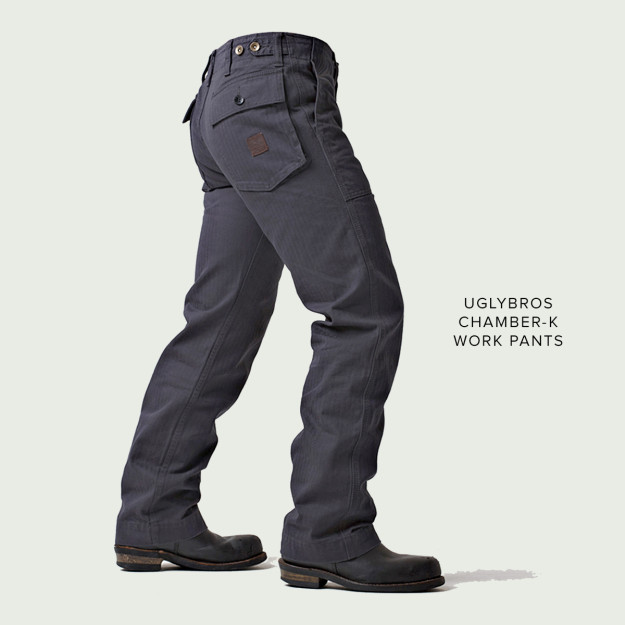 New from uglyBROS: the Chamber-K motorcycle pants.