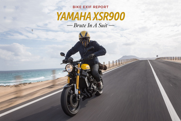 Yamaha XSR900 review: the brute in a suit