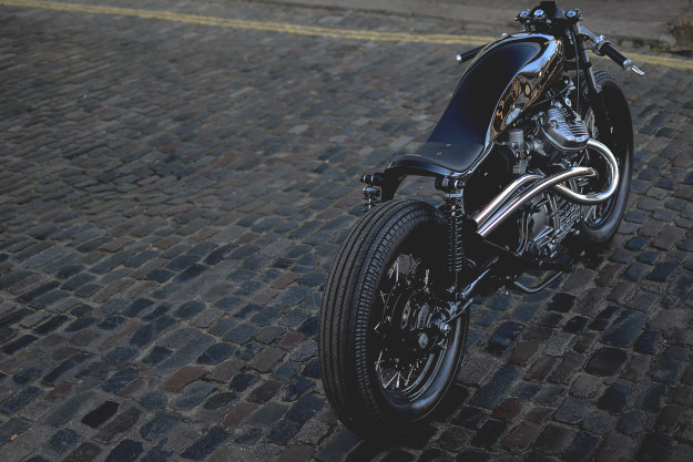 The Auto Fabrica Type 8: Embracing the oddball style of the Honda CX500.