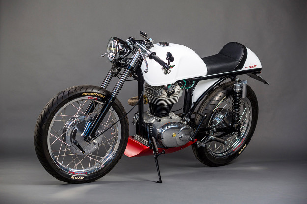 Café Canadiano: Re-Engineering the Ducati 350 Sebring