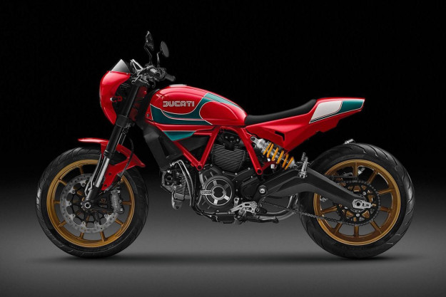 Mike Hailwood Ducati Scrambler