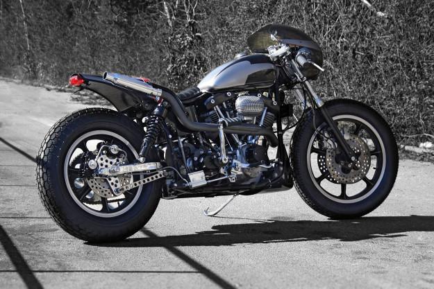 Harley FX Shovelhead by Customs From Jamesville