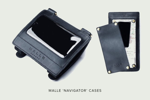 Malle Navigator motorcycle map cases