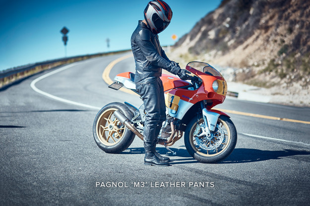 Pagnol M3 Leather Motorcycle Pants
