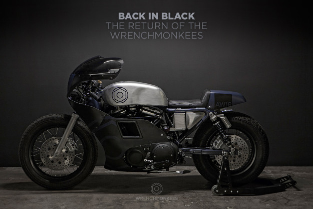 The Wrenchmonkees return with a killer Harley Sportster 883 custom, the 'AW16.'