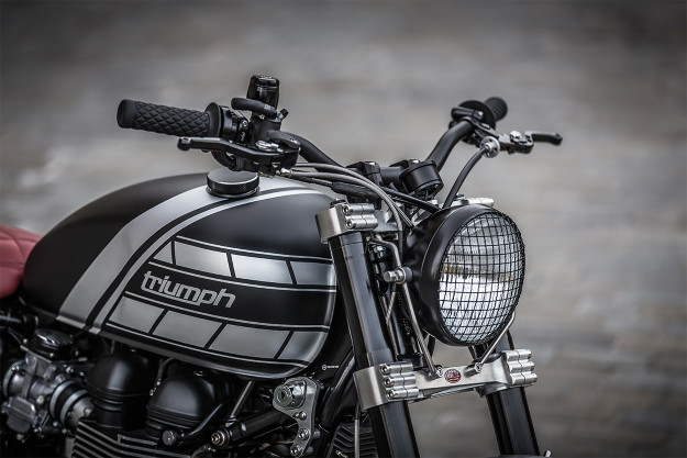 Tougher Than The Rest: Down & Out's Intimidating Triumph T100