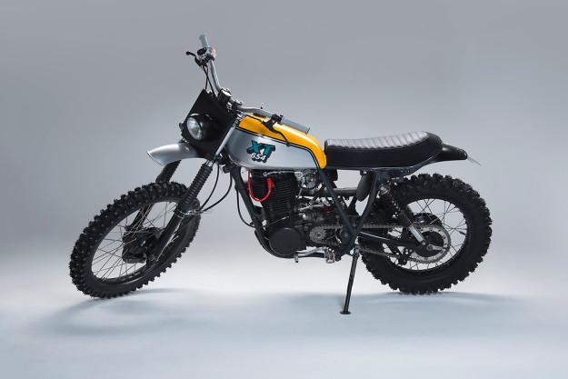 A Yamaha XT500 Built To Blast Through Swedish Forests