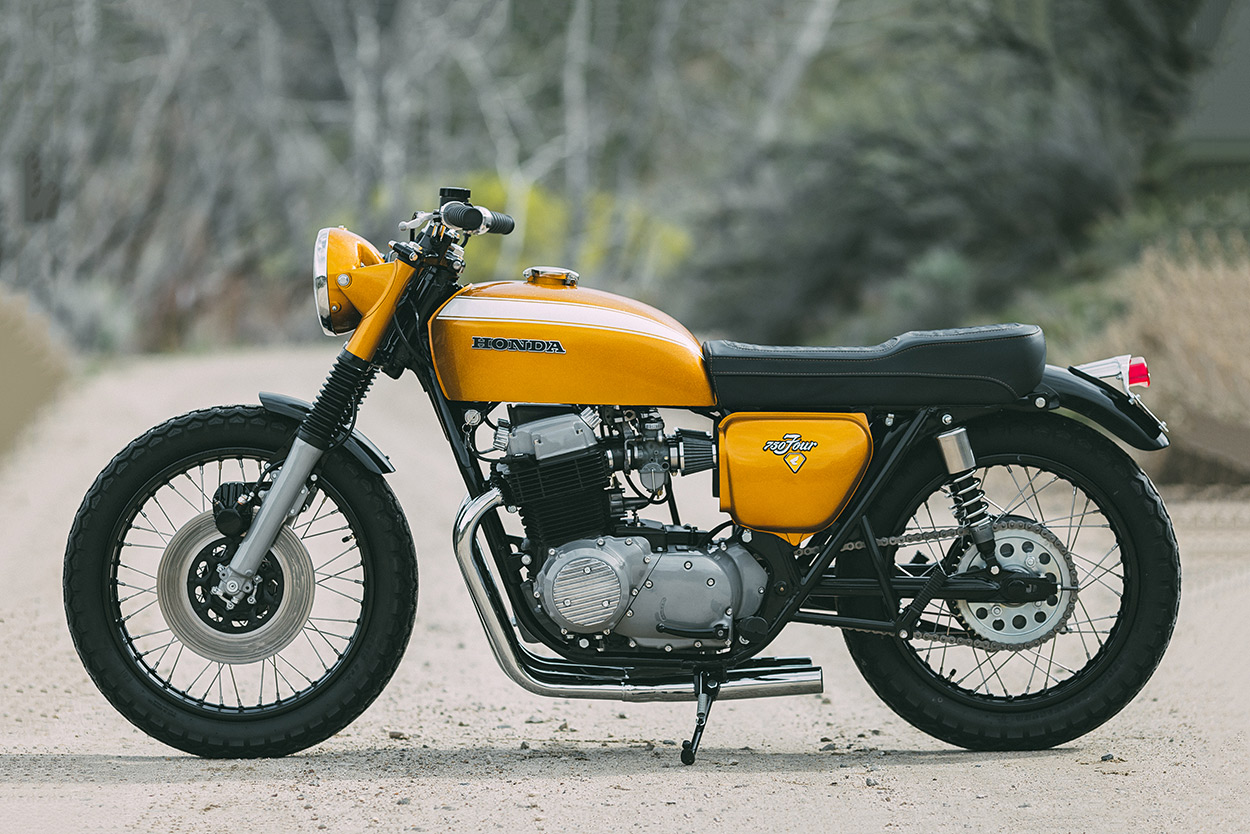 Gold Standard Rawhide S Cb750 Is 24 Carat Perfection Bike Exif