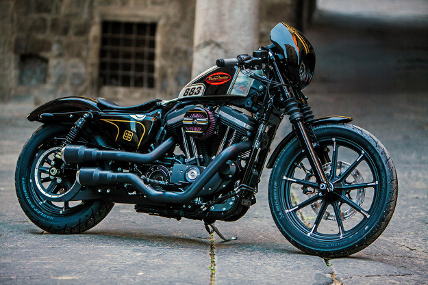 Battle Of The Kings 2016: Sportster Iron 883 by Harley-Davidson Viterbo.