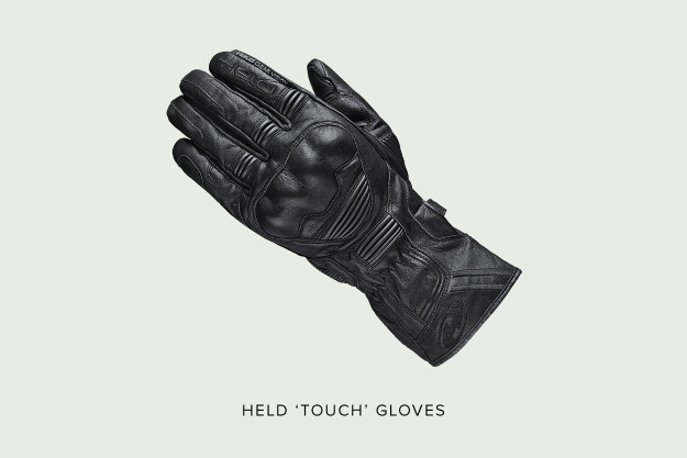 Held Touch motorcycle gloves.