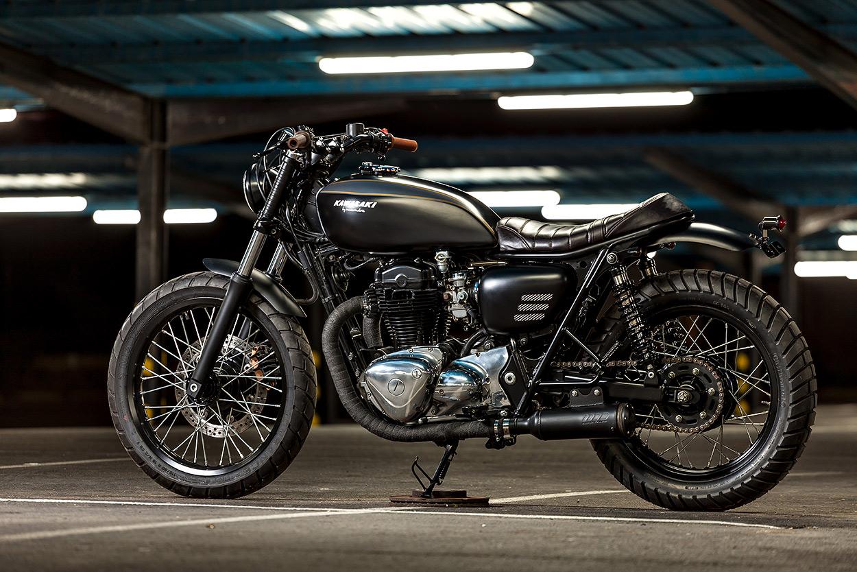 Spanish Style: Kawasaki W650 by Macco Motors'.