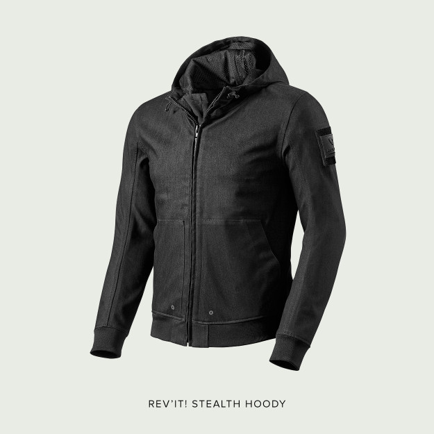 Stealth Hoody motorcycle jacket by REV'IT!