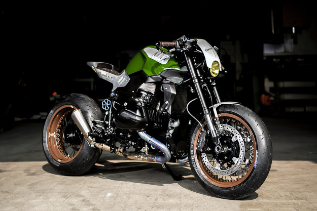 BMW R1200R cafe racer by VTR.