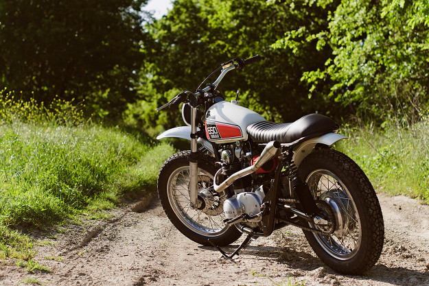 Kevin McAllister's XS650: The Yamaha scrambler we wish the factory had made.
