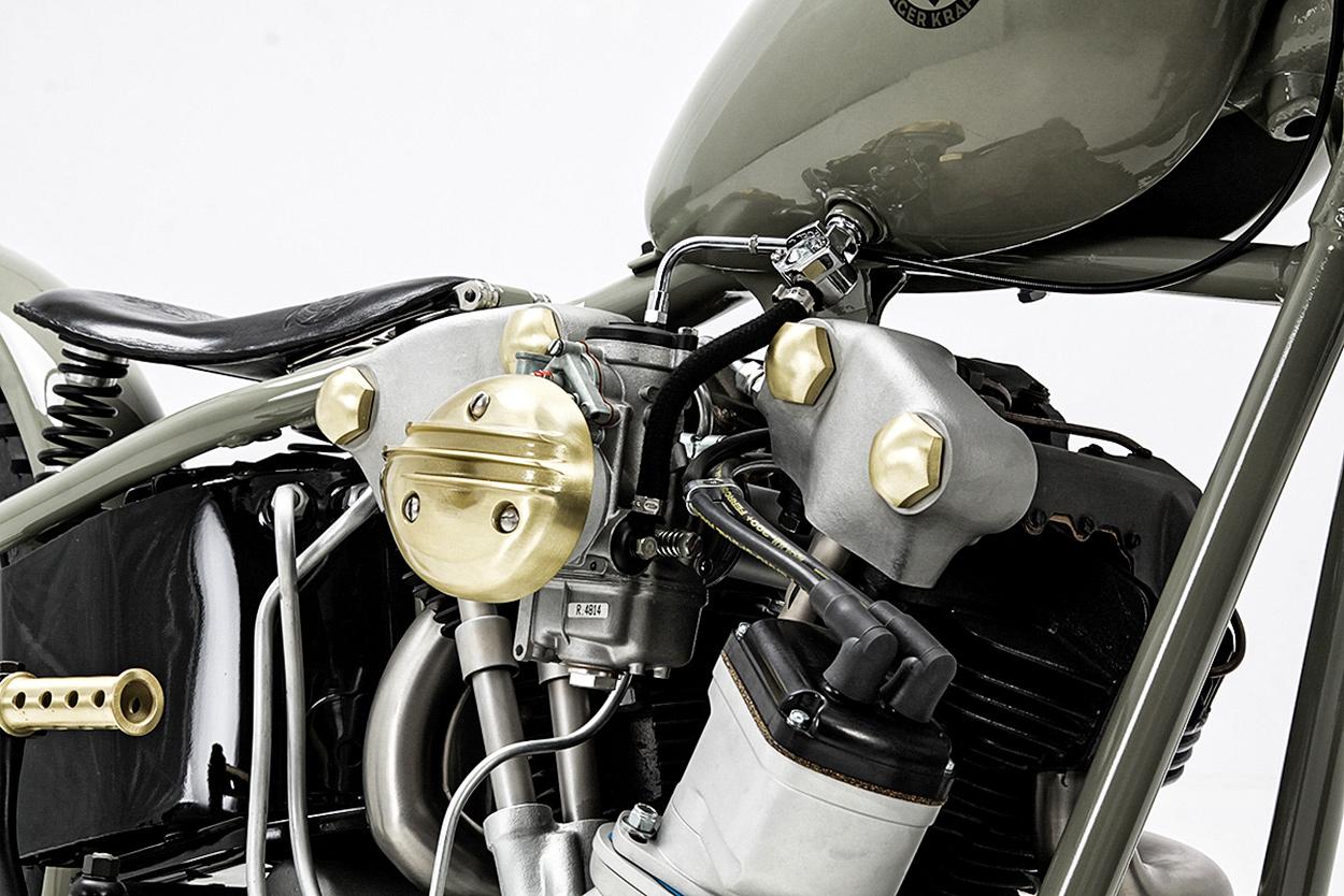 Hand Krafted: Uwe Ehinger's Immaculate Knucklehead | Bike EXIF