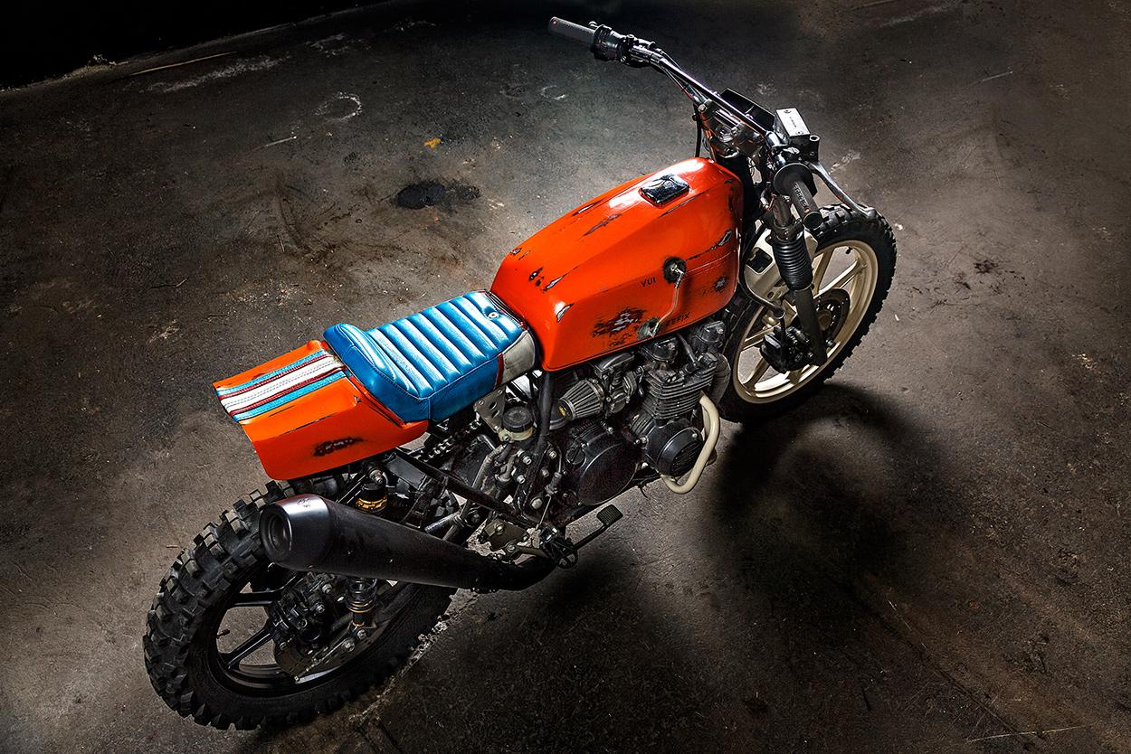 Titan Motorcycles' cheeky Kawasaki Z500