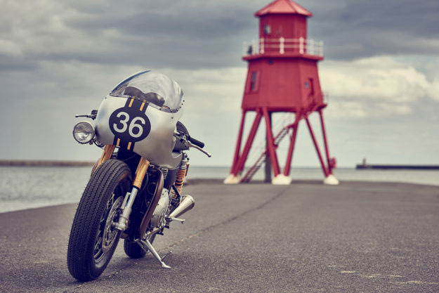 Triumph Thruxton R by Down & Out Cafe Racers