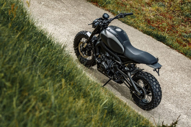 Monkeebeast: The Wrenchmonkees tackle the Yamaha XSR900.