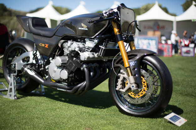 Honda CBX track bike by Nick O'Kane of K&N.