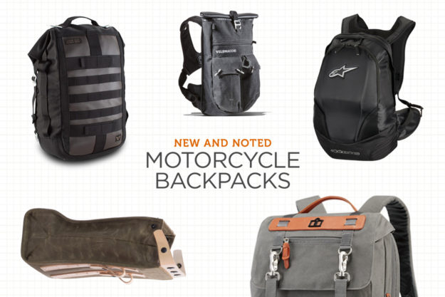 Gear Guide: The best motorcycle backpacks on sale today, from artisan leather to high tech materials and design.