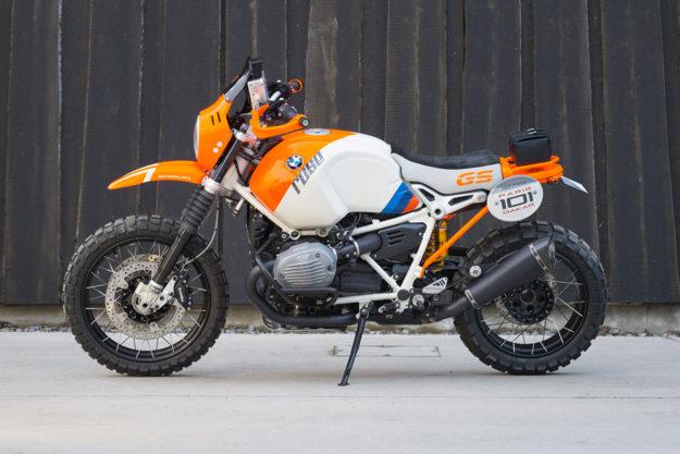 BMW Motorrad's 'Lac Rose' R NineT concept.
