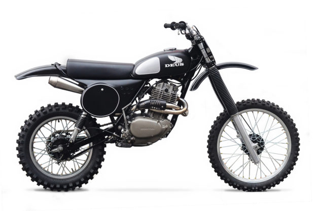 Big In Japan: A Mighty XL500 from Deus