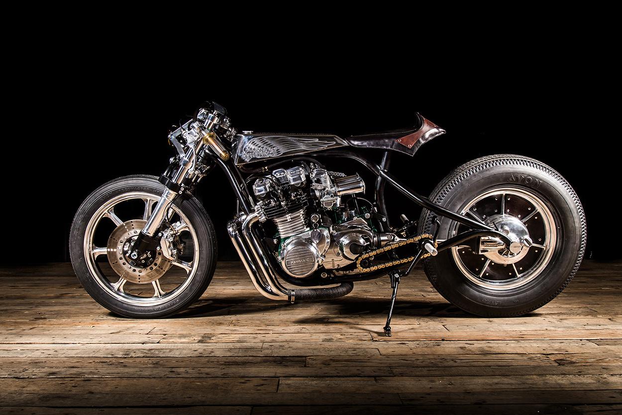 Sacrilège: A Kawasaki Z1000ST Of Biblical Proportions | Bike