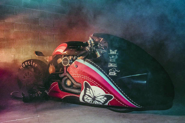 Sultans Of Sprint drag racer by Plan B Motorcycles.