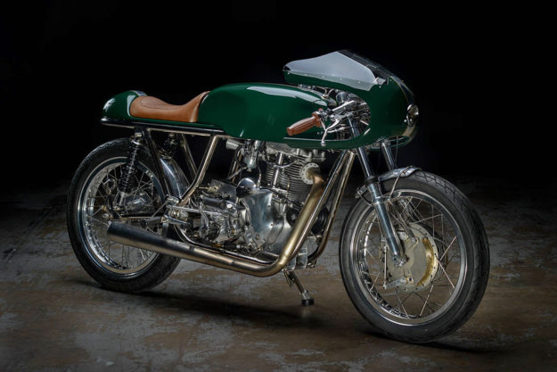Custom Velocette by Revival Cycles