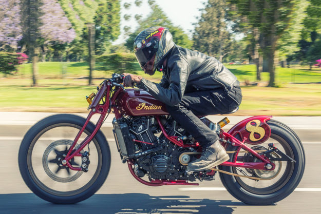 Custom Indian Scout by Roland Sands Design
