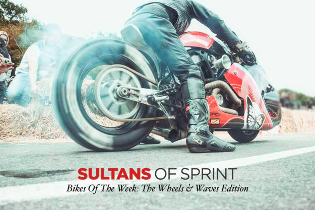 Sneak Preview: The bizarre drag bikes of the Sultans Of Sprint series.