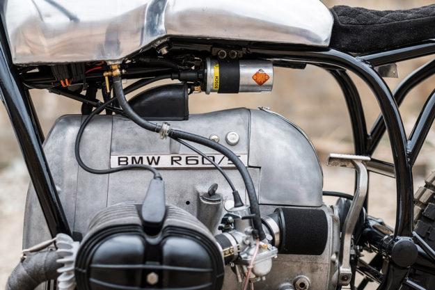 Tim Harney's elegant BMW R60/5 cafe racer.