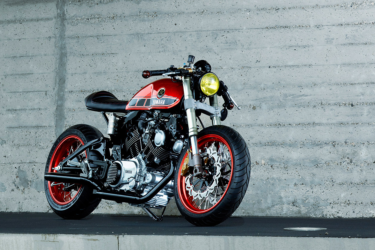Dutch Treat: Roland Snel's Yamaha TR1 cafe racer