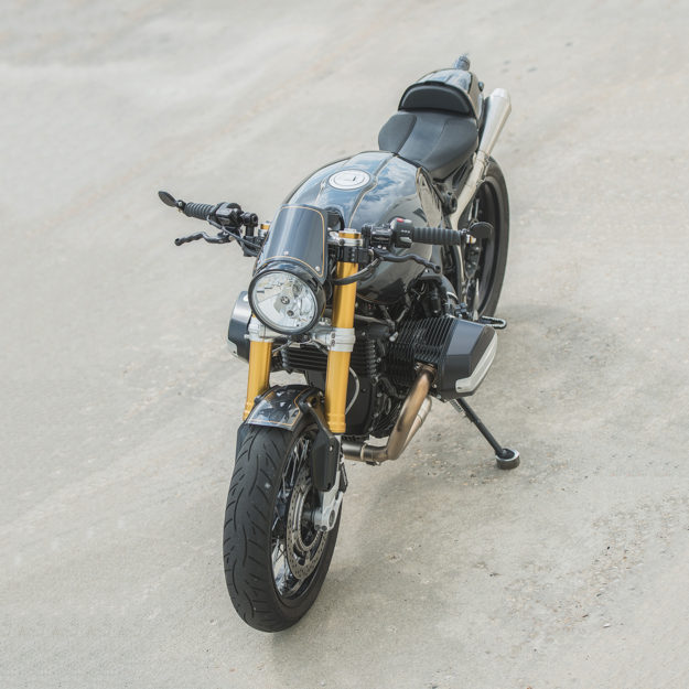 Real world custom: Tweaking the R nineT with Analog Motorcycles.