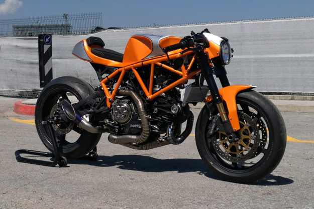 Custom Ducati 900ss cafe racer by CC Racing Garage