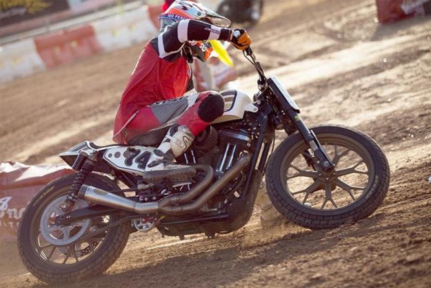 Harley-Davidson Sportster tracker by RSD