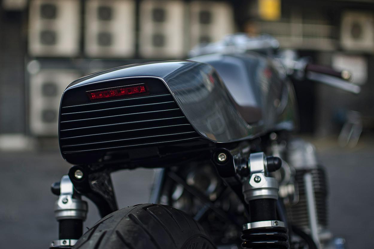 Reinventing The Classic Auto Fabrica's Honda CB40   Bike EXIF