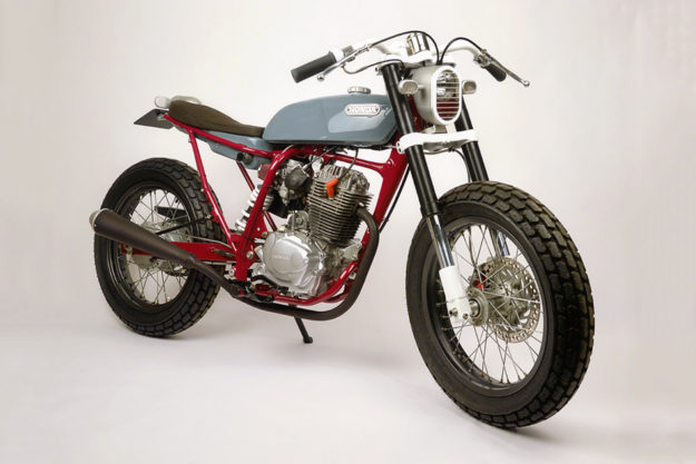 Honda FTR223 by Tim Cumper