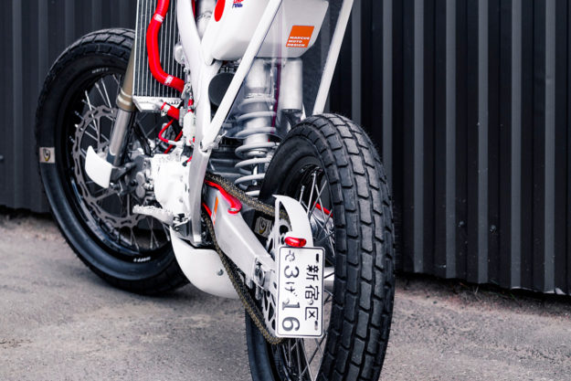 Honda Tracker by Swede Marcus Carlsson of Marcus Moto Design.